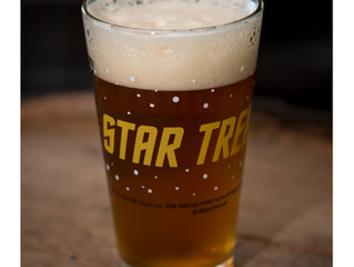 STAR TREK IS GETTING AN OFFICIAL BEER FOR ITS 50TH ANNIVERSARY