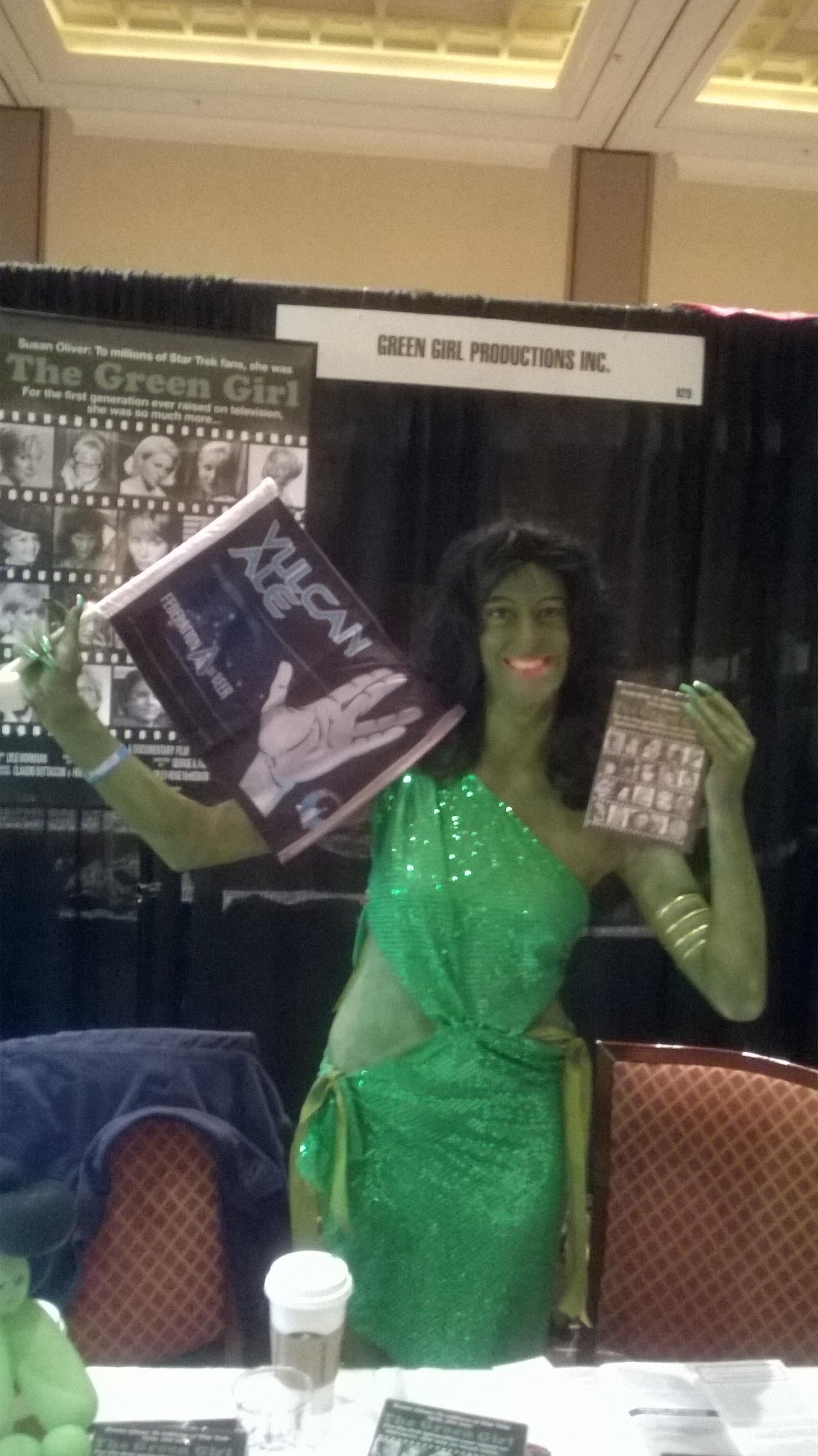 Green Girl promotes Vulcan Ale