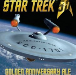 Star Trek Golden Anniversary Beer now available
