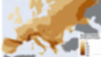 EU Butterfly distribution map
