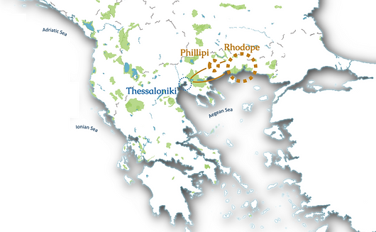 Tour Map Rhodope