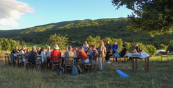 Shepherds' campfire