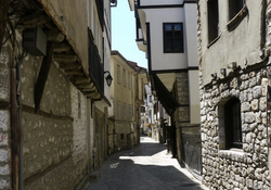 Ohrid cobble street