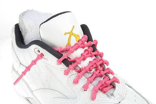 Xtenex Adjustable Shoelaces | pink