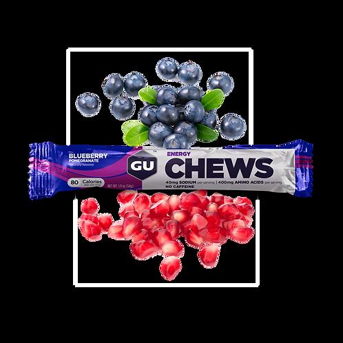 Energy Chews | Blueberry Pomegranate 54g