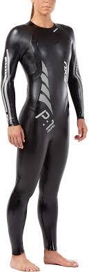WetSuit 2XU Woman Propel P1 Active | Preto Logo Prata