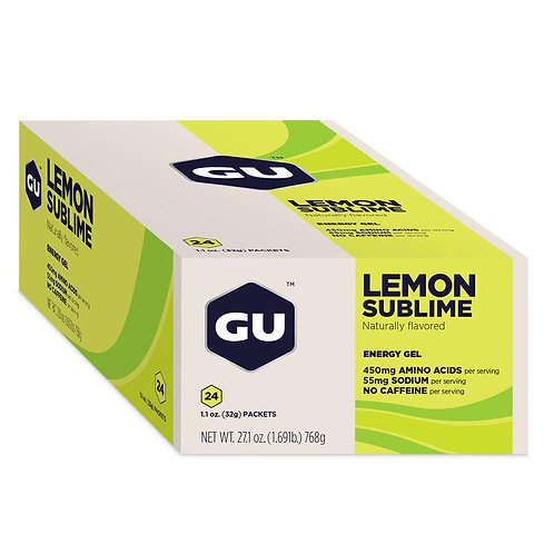 Box of 24 Units Original Gel   Lemon Sublime 768g