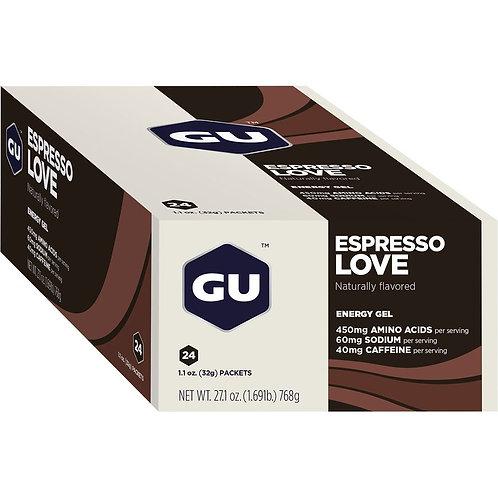 Caixa de 24 Unidades Gel Original   Espresso Love 768g