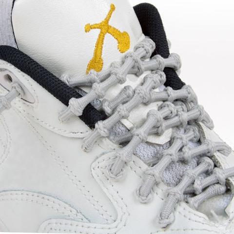 Xtenex Adjustable Shoelaces | Silver