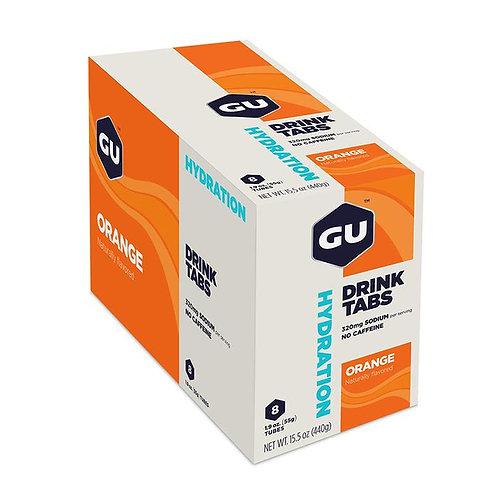 Caixa de 8 Unidades de Hydration Drink Tabs | Orange 432g