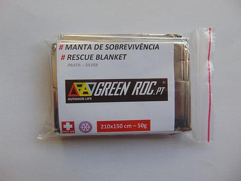 Survival Blanket | Silver