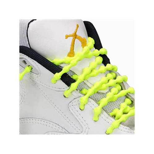 Xtenex Adjustable Shoelaces | Neon yellow