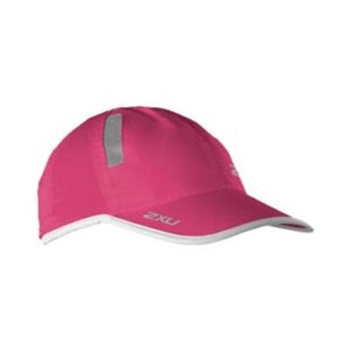 2XU Run Cap Cap | Pink / White