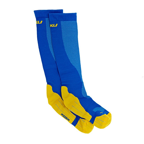 2XU Mujer Compression Performance Run Calcetines | Azul