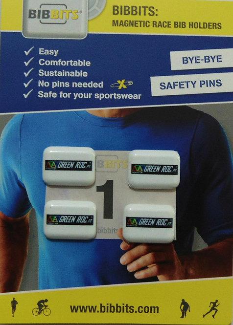BibBits Magnetic Dorsal Door GreenRoc.co.uk | White