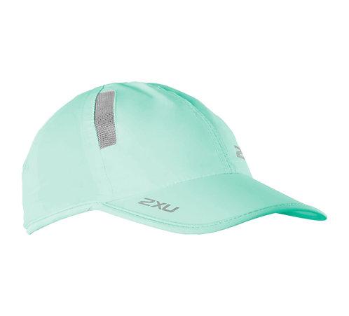 2XU Run Cap | Mar / blanco
