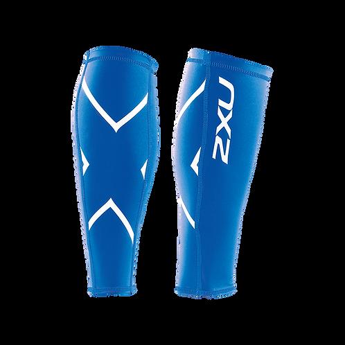 2XU Protector de Gemelos de Compresión Calf Guard | Azul