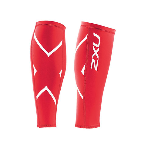 2XU Compression Calf Guard Leggings | Red