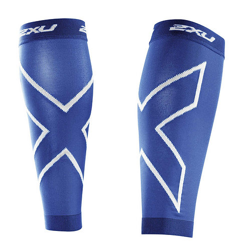 2XU Protector de Gemelos de Compresión Calf Sleeves | Azul