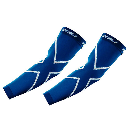 2XU Manguitos de compresión Arm Sleeves | Azul