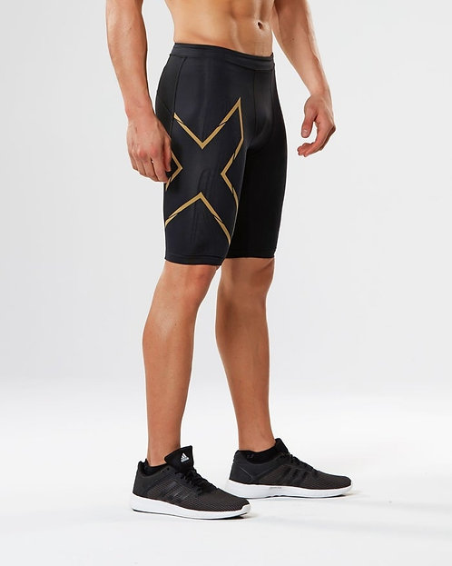 2XU Elite MCS Compression Shorts Shorts Black | Golden logo