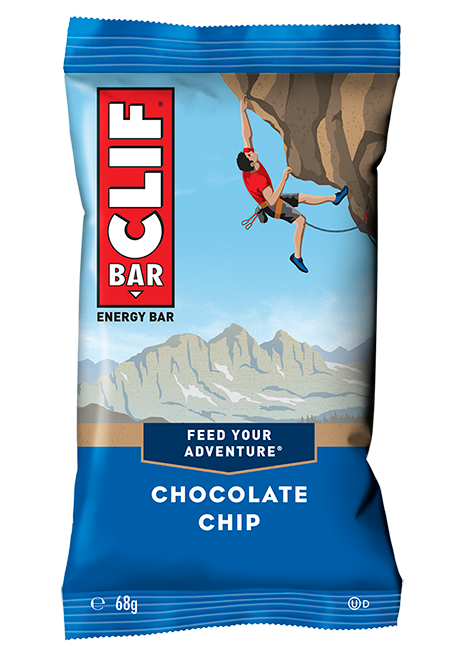 Oatmeal Energy Bar with Chocolate Nuggets | Clif Bar 68g