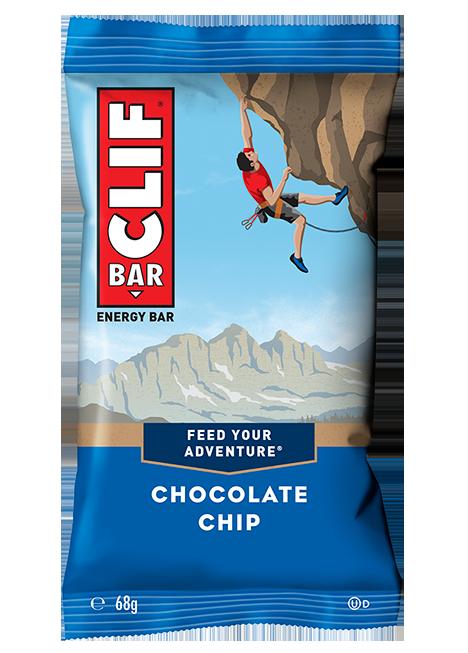 Barrita energética de avena con pepitas de chocolate | Clif Bar 68g