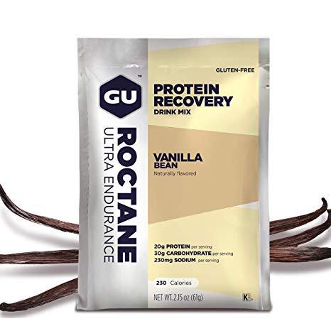 Roctane Protein Recovery Drink Mix   Vanilla Bean 62g