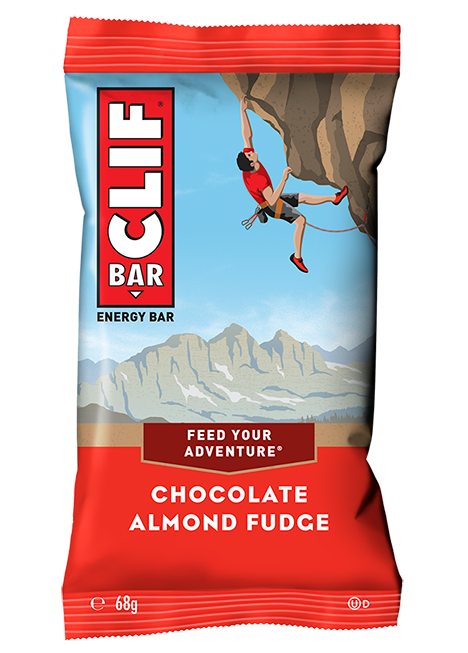 Chocolate and Almond Vanishing Oat Energy Bar | Clif Bar 68g