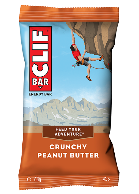 Barrita energética de avena con mantequilla de maní | Clif Bar 68g