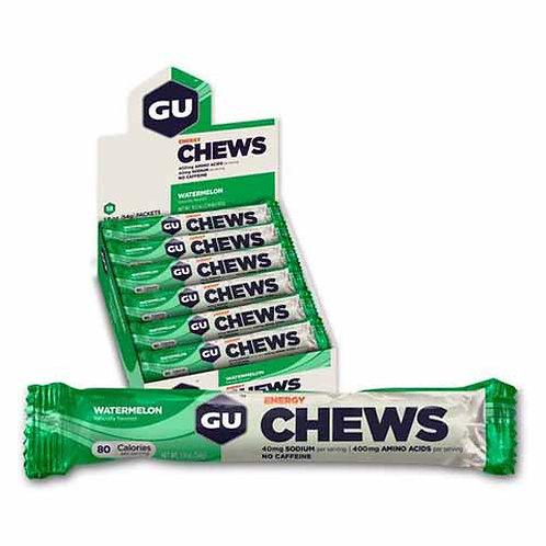 Caixa de 18 Unidades Energy Chews | Watermelon 972g