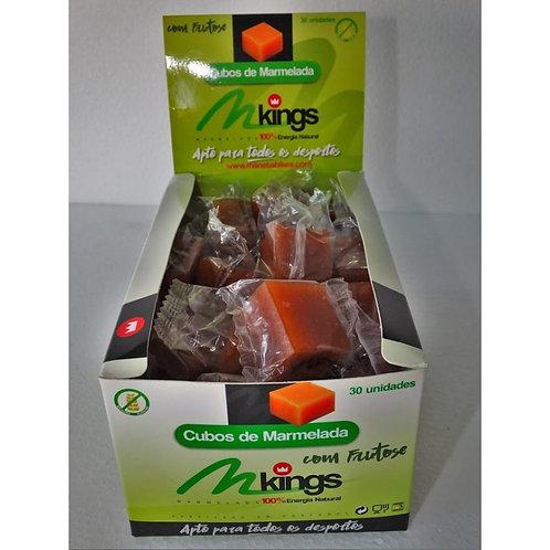 Cubos de Marmelada com Frutose 30 cubos