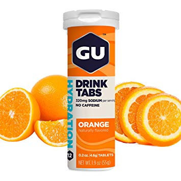 Pestañas para beber hidratación | Naranja 56g