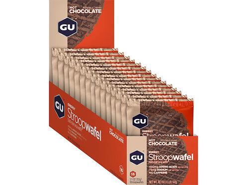 Caixa de 16 Unidades Energy Stroopwafel | Hot Chocolate 480g