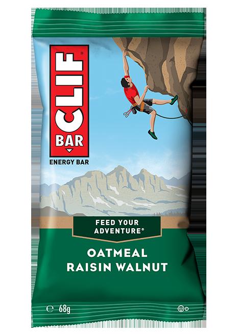 Barra Energética Oatmeal Raisin Walnut | Clif Bar 68g