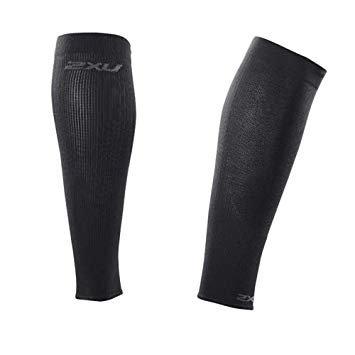 2XU Run Compression Calf Sleeves Leggings | black