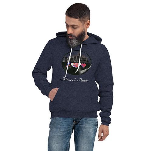 Unisex MIP Records city hoodie