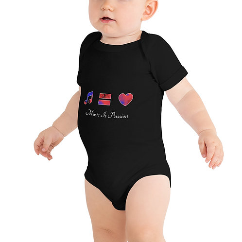 Baby Music Is Passion short sleeve one piece