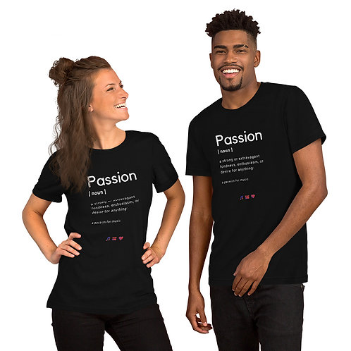 Short-Sleeve Unisex Passion Definition T-Shirt