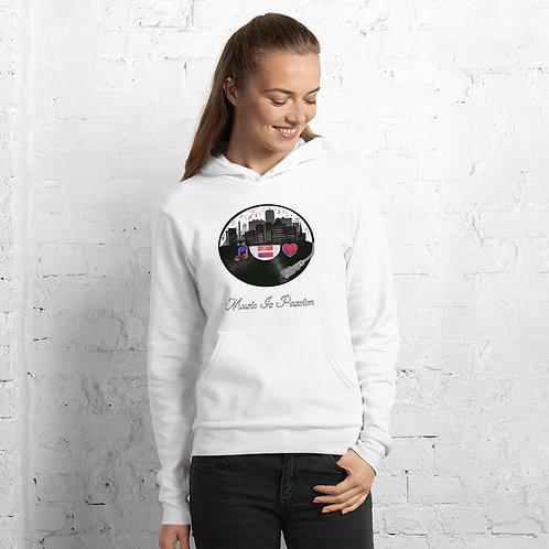 Unisex MIP Records city w/confetti hoodie