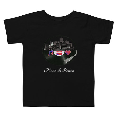 Toddler MIP Records City Short Sleeve Tee