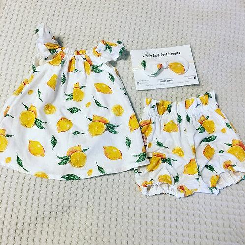 Lemon 🍋 Top & Short Set