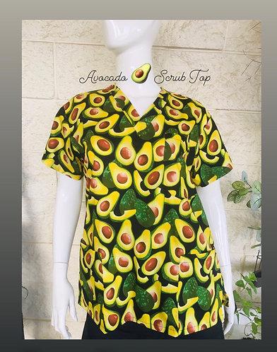 Avocado 🥑 Scrub Top