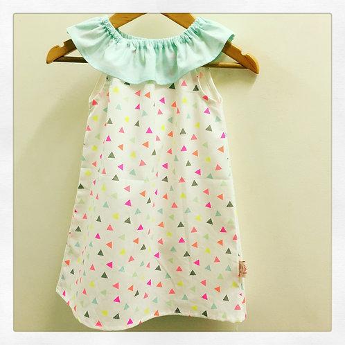 Confetti 🎉 Flutter Neck Dress