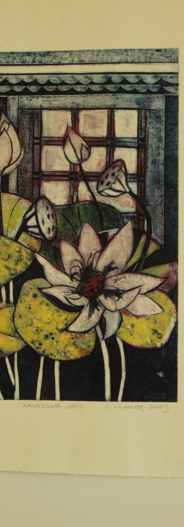 Kanazawa Lotus by Christine Courcier-Jone