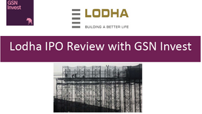 Lodha IPO Analysis by GSN Invest Part 2/2