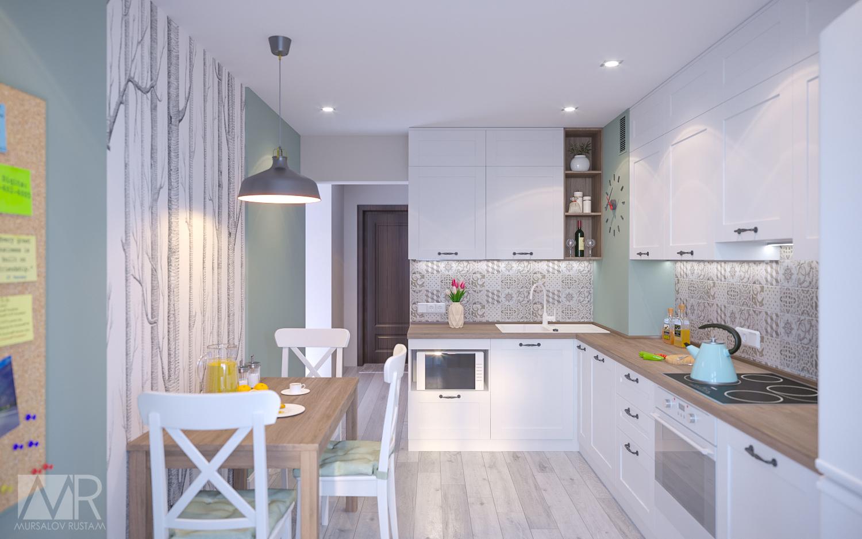 как расширить кухню дизайн фото подходящую вам насадку