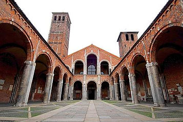 Taxi-Tour-Milano-Basilica-di-Sant'Ambrogio