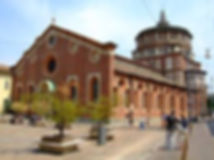 Taxi-Tour-Milano-Basilica-Santa-Maria-delle-Grazie