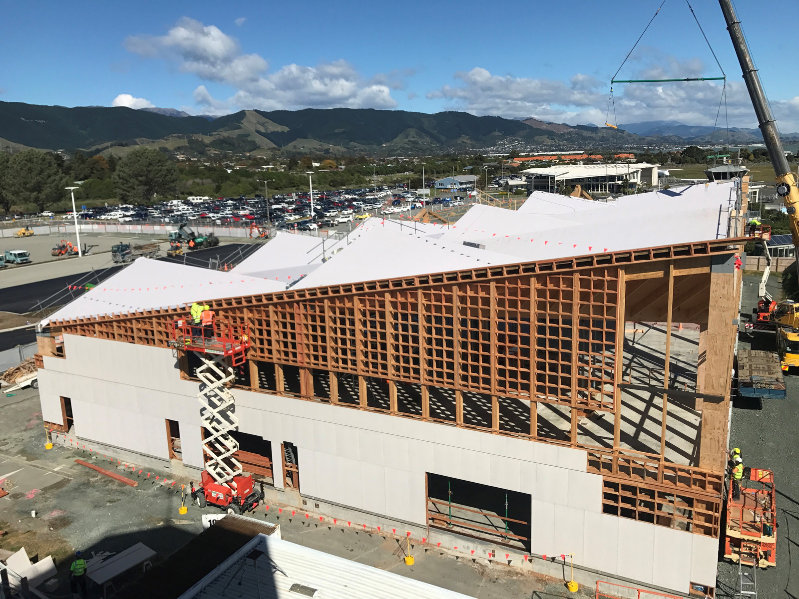 Rooflogic Warm Roof Systems Nelson Airport